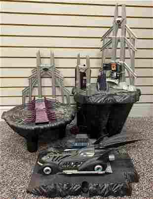 Kenner Batman Forever Batcave Playset