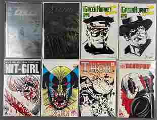 9 piece group signed comic books and more