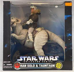 Kenner Star Wars Collector Series Han Solo and Tauntaun