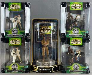 Group of 5 Kenner Star Wars action figures