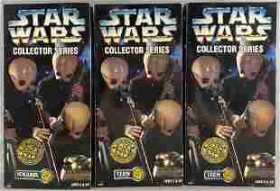 Group of 6 Kenner Star Wars Collector Series Cantina