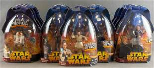 Group of 17 Hasbro Star Wars Revenge of the Sith action
