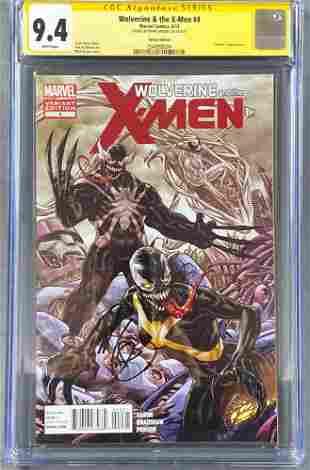 Signed CGC Graded Marvel Comics Wolverine & the
