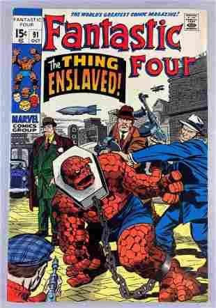 Marvel Comics Fantastic Four No. 91 comic book