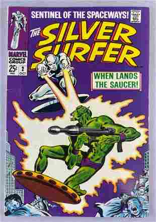 Marvel Comics The Silver Surfer No. 2 comic book