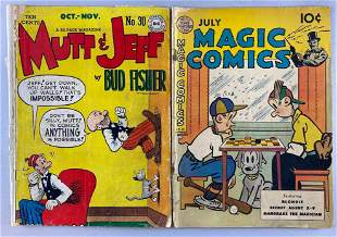 Group of 2 Golden Age comic books