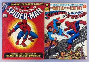 Group of 2 Oversized comic books