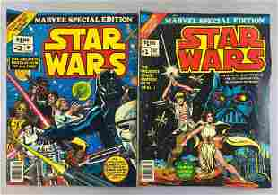 Group of 2 Marvel Comics Marvel Special Edition Star