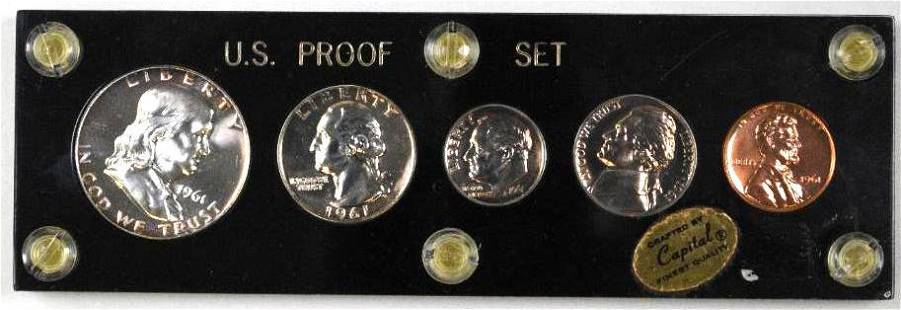 1961 5-Coin U.S. Proof Set.