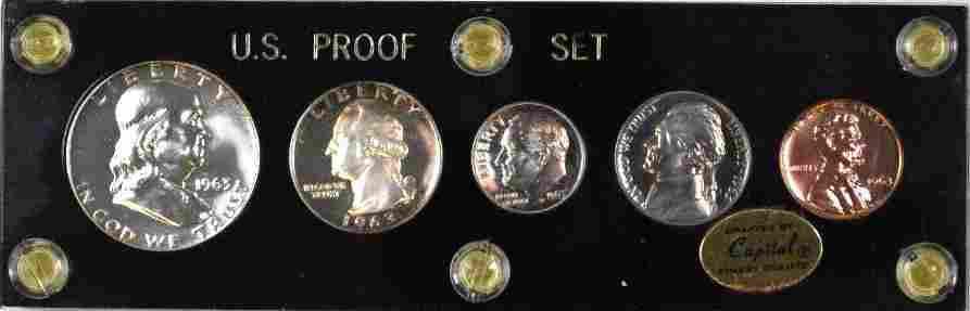1963 5-Coin U.S. Proof Set.