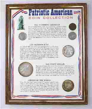 6-Coin Patriotic American Coin Collection in