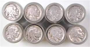 Group of (322) Buffalo Nickels