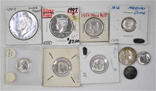 Group of (10) U.S. Silver Coins