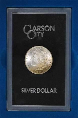 1884 CC GSA Morgan Silver Dollar