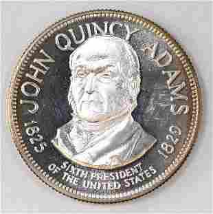 Franklin Mint President 1oz. Sterling Silver Round