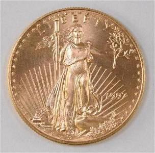 1997 $50 American Eagle 1oz. .999 Fine Gold