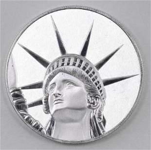 2017 $4 Solomon Islands Lady Liberty 1.5oz. .999 Fine