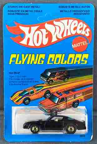 French Hot Wheels Flying Colors Hot Bird