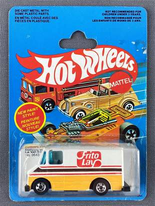 Canadian Market Hot Wheels No. 9643 Delivery Van