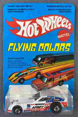 Hot Wheels Flying Colors Army Funny Car