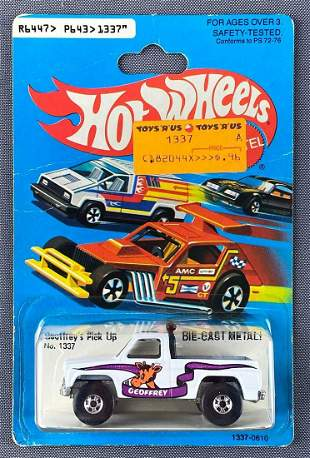 Hot Wheels No. 1337 Goeffreys Pick Up