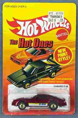 Hot Wheels The Hot Ones No. 5182 Camaro Z-28