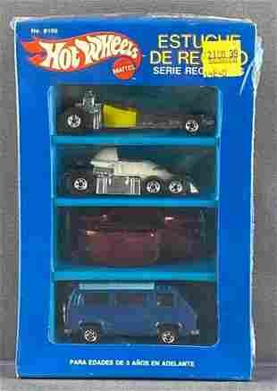 Mexico Hot Wheels No. 8100 4-vehicle Gift set