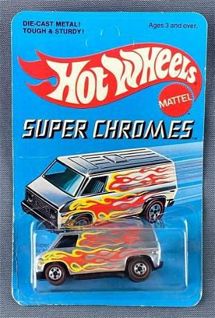 Hot Wheels Super Chromes Redline No. 9205 Super Van