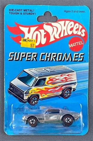 Hot Wheels Super Chromes Redline No. 9203 Mustang