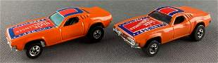 Group of 2 Hot Wheels Dixie Challenger