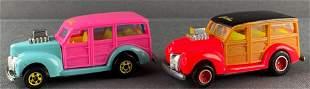 Group of 2 Hot Wheels 40s Woodie