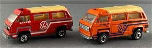 Group of 2 Leo Mattel Hot Wheels Sunwagon