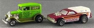 Group of 2 Hot Wheels die-cast vehicles