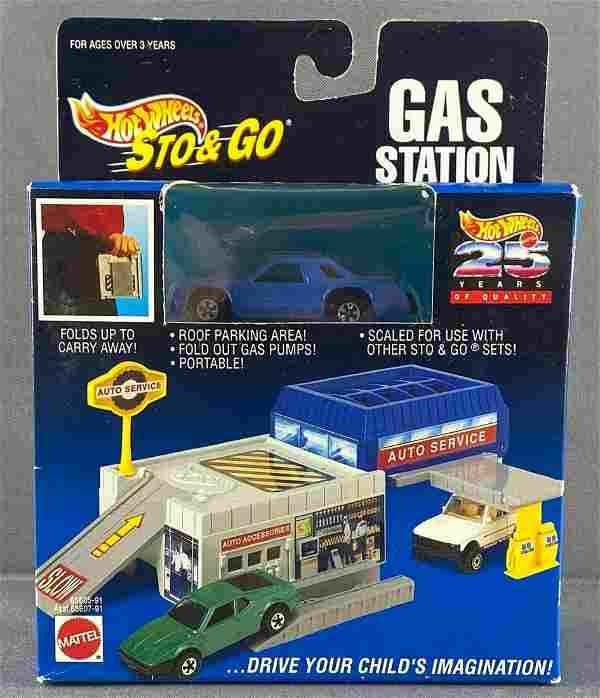 Hot Wheels Sto & Go Gas Station
