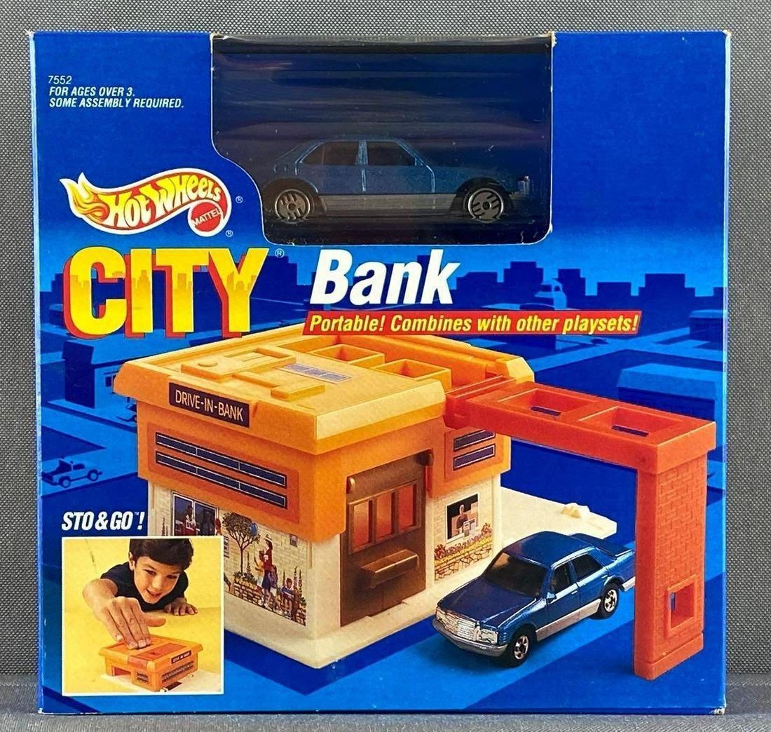 Hot Wheels City Sto & Go Bank