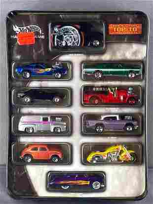 Hot Wheels Hall of Fame 10-vehicle set