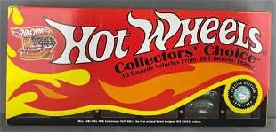Hot Wheels Collectors Choice 30-vehicle set
