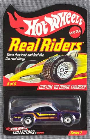 Hot Wheels Real Riders Custom 69 Dodge Charger