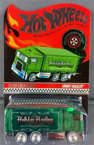 Hot Wheels Red Line Club Exclusive Hiway Hauler