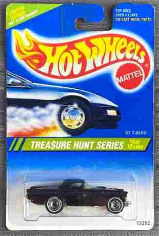 Hot Wheels 1995 Treasure Hunt Series 57 T-Bird