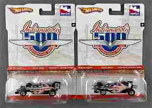 Group of 2 Hot Wheels Indianapolis 500 die-cast Indy