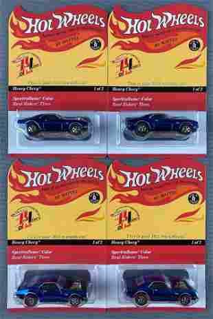 Group of 4 Hot Wheels RLC 2011 Rewards Car-Heavy Chevy