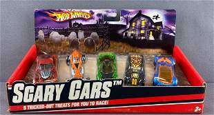 Hot Wheels Scary Cars 5-vehicle set