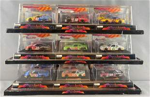 Group of 3 Race Image Collectibles die-cast vehicle