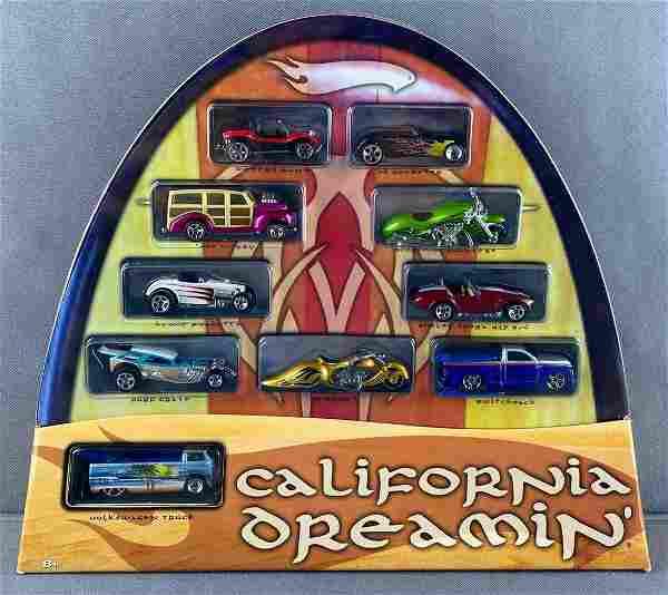 Hot Wheels California Dreamin 10-vehicle set