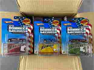 Full shipping box of Hot Wheels Connect Cars die-cast