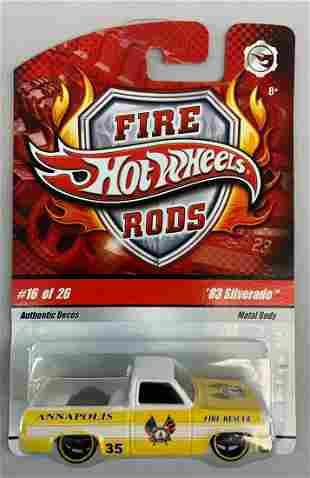 Hot Wheels Fire Rods 83 Silverado die-cast vehicle