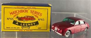 Matchbox No. 65 Jaguar 3.4L Sedan