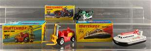 Group of 3 Matchbox die-cast vehicles