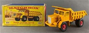 Matchbox King Size No. K-5 Foden Dumper Truck